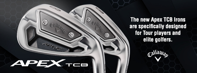 The new Apex TCB Irons are specifically designed for Tour players and elite golfers.