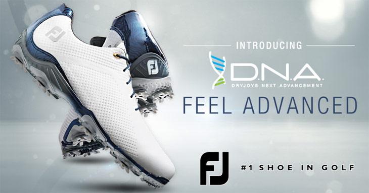 Footjoy フットジョイ 2014年ニューモデル D.N.A/ディーエヌエー ゴルフシューズ デザインを一新した快適シューズの登場!